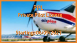 PPL(A) Course Class is scheduled to start on 6th of September 2021